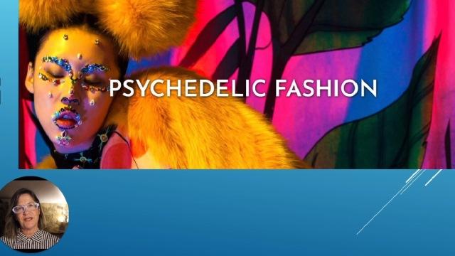 Viaje e se inspire na moda psicodélica
